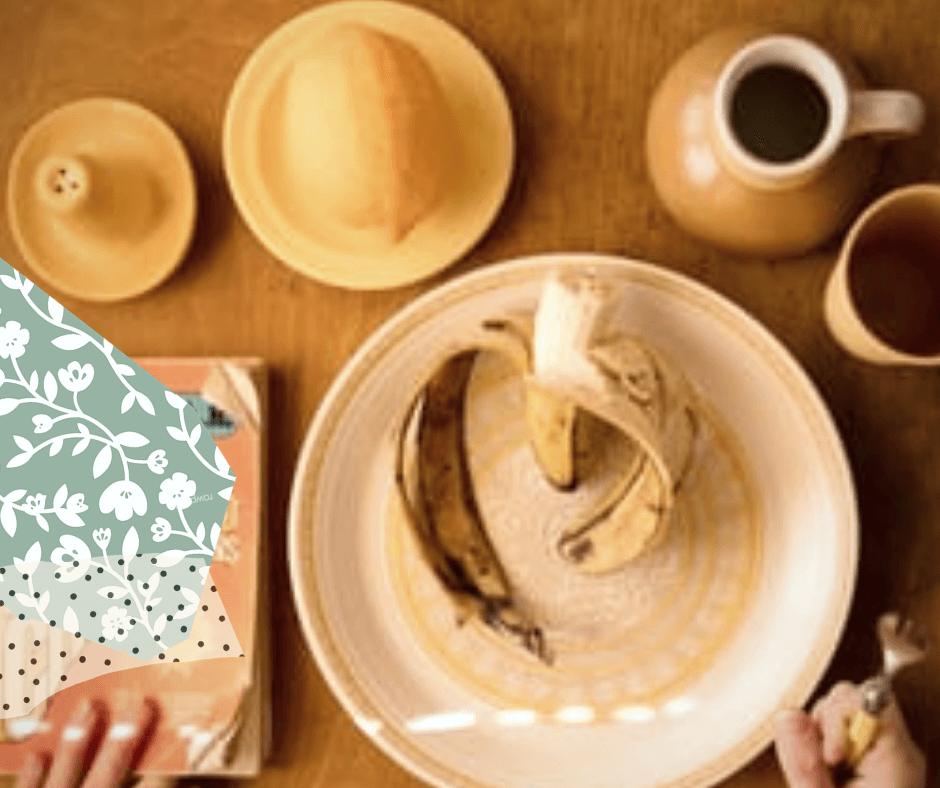 BANANA COFFEE CONES: CORNETTI ALLA PANNA AL CAFFE' CON BANANA