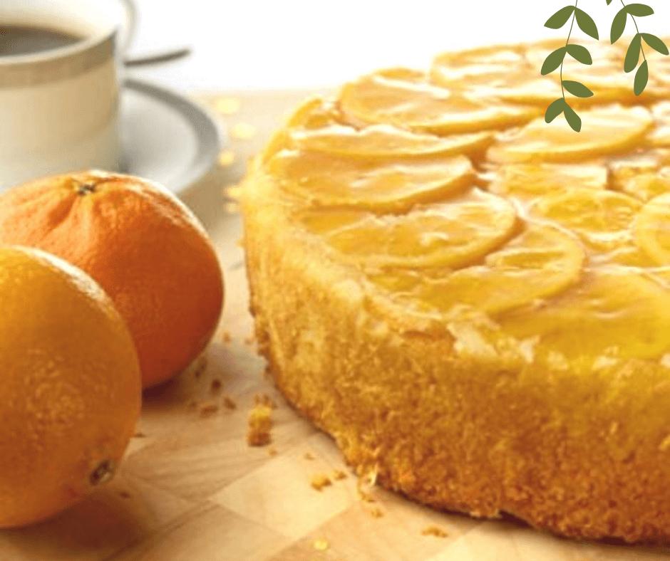 TORTA VITAMINA C con arancia