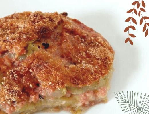 Formula leggera, gustosa e vegana: la parmigiana di zucchine