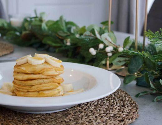 pancakes vegani cocco e banana