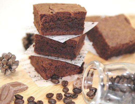 Brownies vegani con gocce di cioccolato